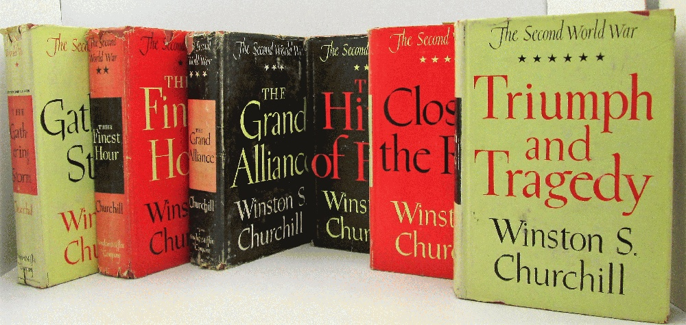 Image for The Second World War (6 Volumes): Winston Churchill