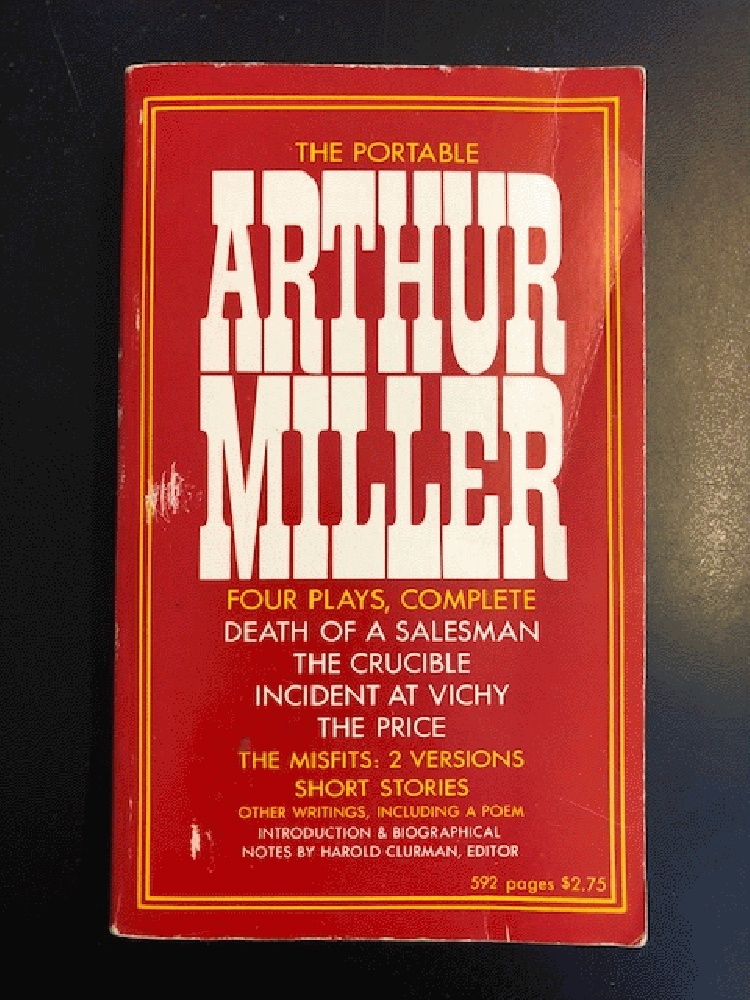 Image for The Portable Arthur Miller: 2 (Viking paperbound portables, P 71)