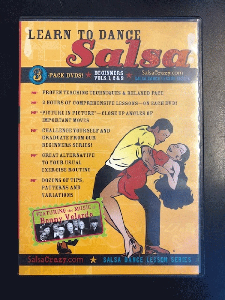 Image for Salsa Dancing Lessons, Beginners Salsa 3 Pack DVD SET: Salsa Dance Lessons (3 DVDs)