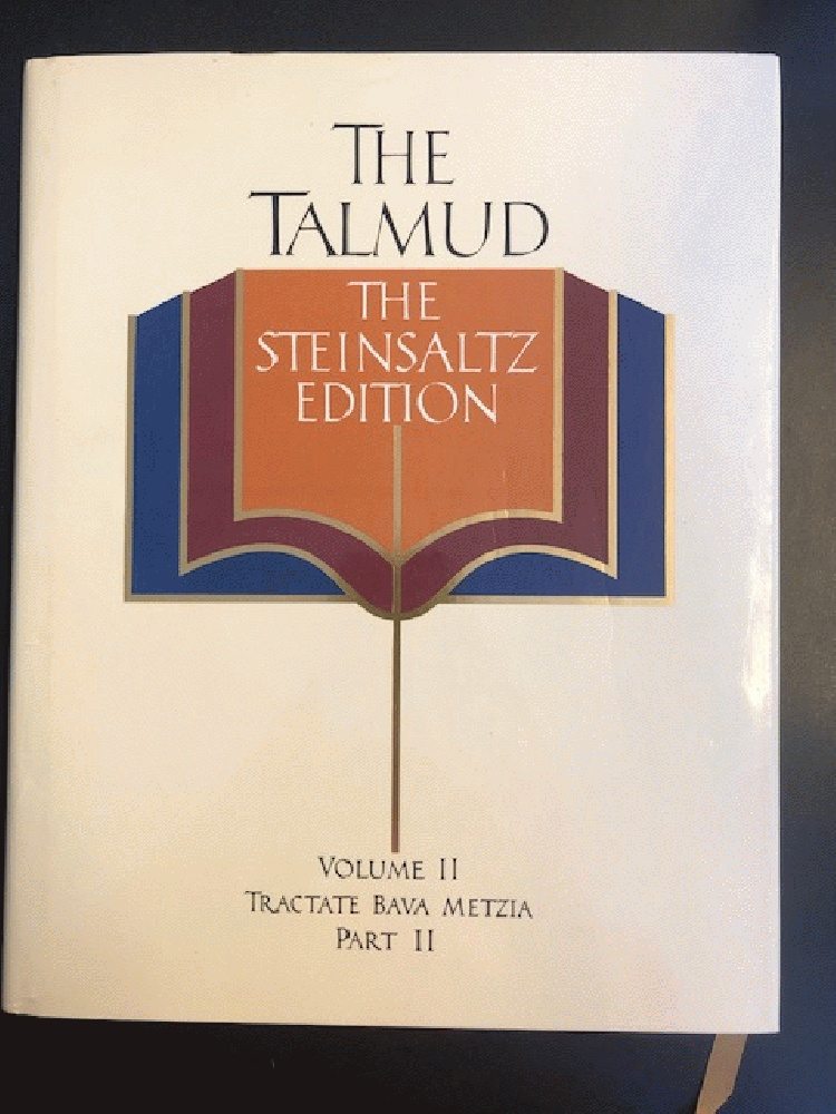 Image for The Talmud, Vol. 2: Tractate Bava Metzia, Part 2, Steinsaltz Editon (English and Hebrew Edition)
