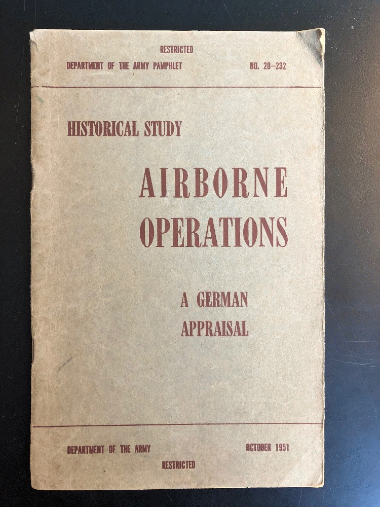 Image for Airborne Operations: A German Appraisal