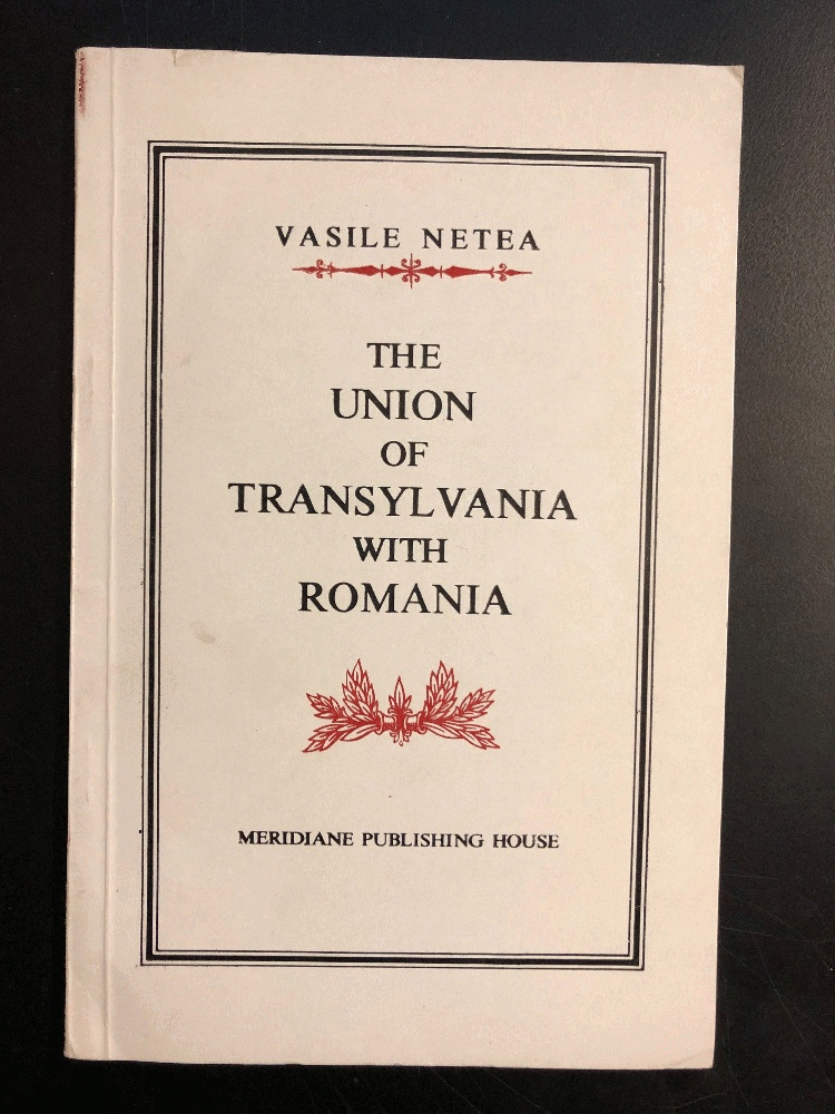 Image for The Union of Transylvania with Romania.