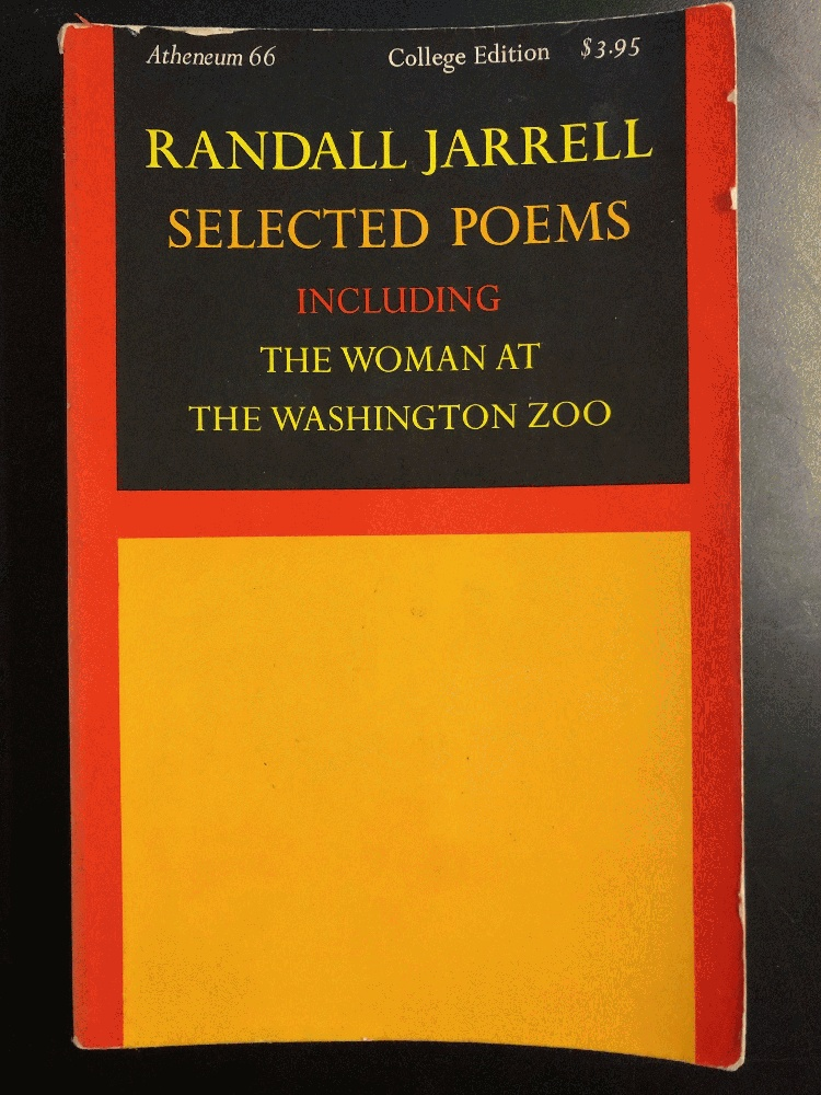 Image for Selected Poems Including the Woman at the Washington Zoo