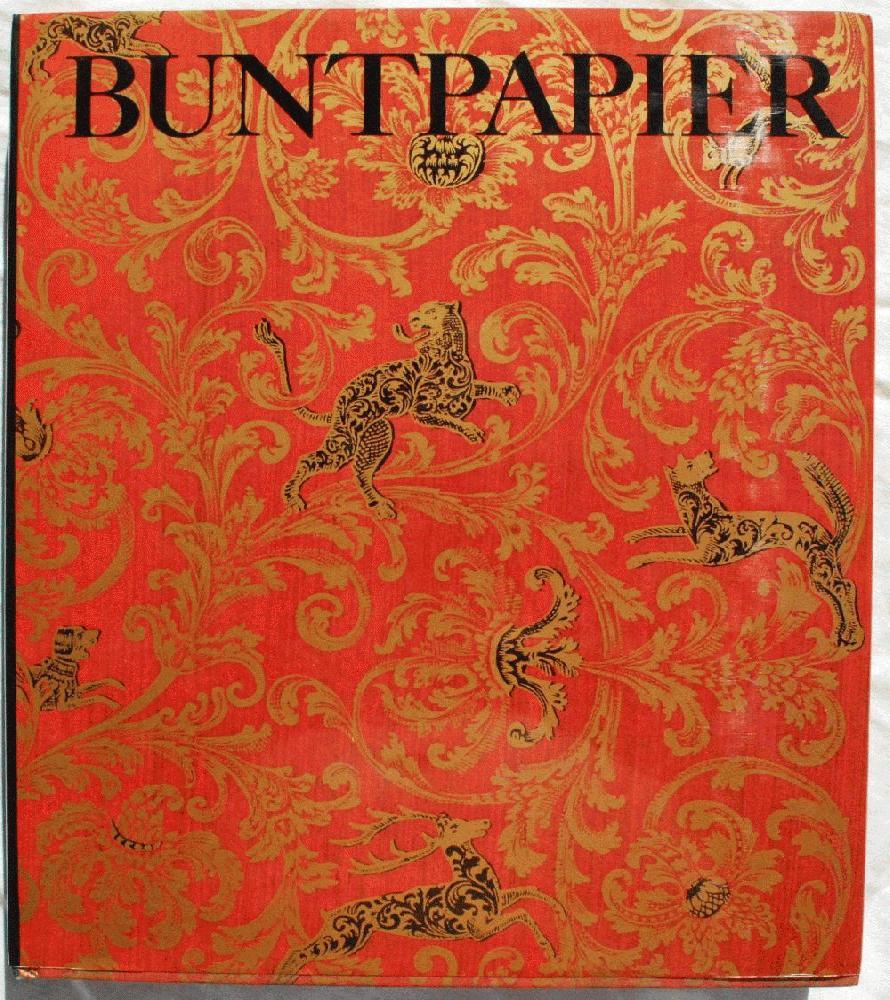 Buntpapier: Herkommen, Geschichte, Techniken, Beziehungen zur Kunst., Albert Haemmerle (1899-1976).