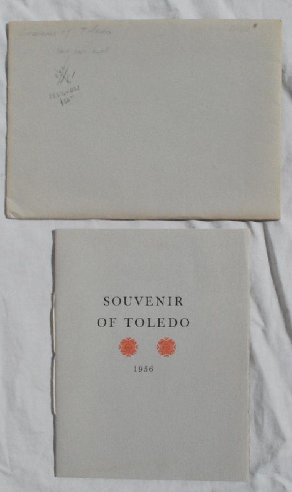 A Souvenir of Toledo, 1956 [Cover Title]., Jake Zeitlin (1902-1987).