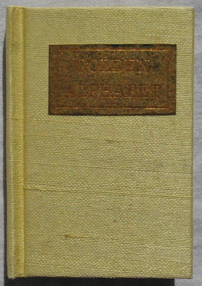 Golden Alphabet., Rebecca Saady Bingham.