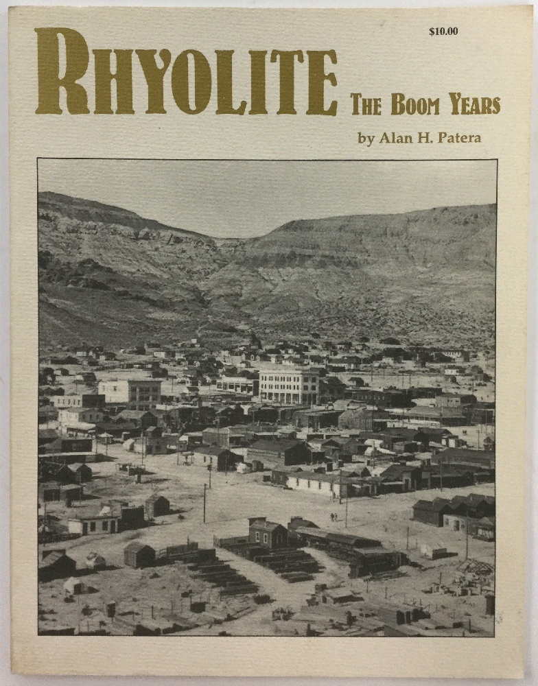 Image for Rhyolite: The Boom Years