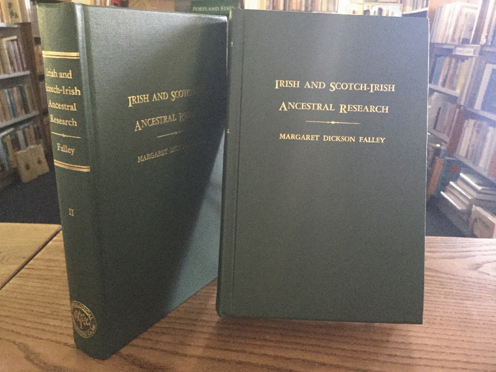 Irish and Scotch-Irish Ancestral Research: A Guide to the Genealogical Records, (2 Volume Set), Falley, Margaret Dickson