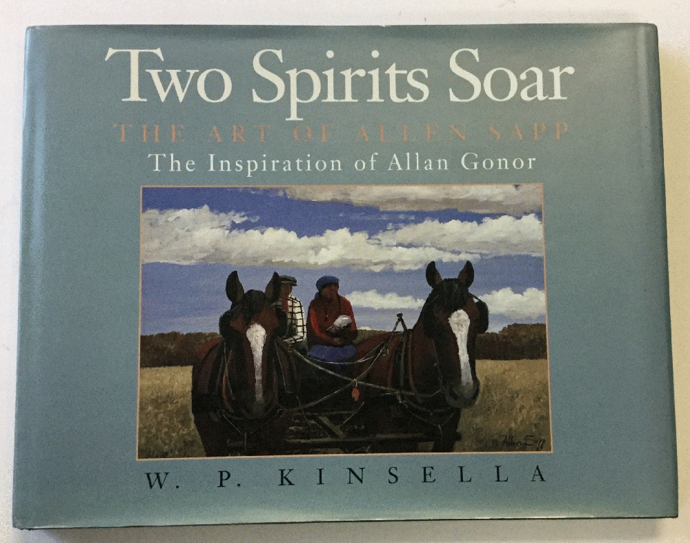 Image for Two spirits soar: The art of Allen Sapp : the inspiration of Allan Gonor