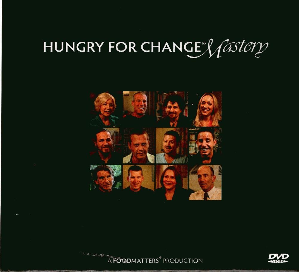Hungry for Change, Mastery, 12 DVD Set, Jon Gabriel, Daniel Vitalis, Dr. Alejandro Junger, etc.