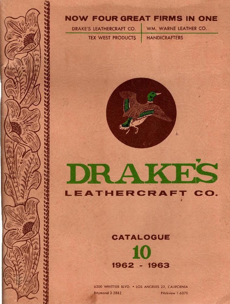 Drake's Leathercraft Co. Catalogue 10, 1962-1963, Drake's Leathercraft Co.