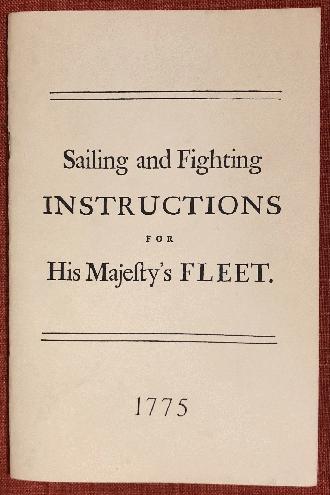 Image for Sailing and Fighting Instructions for His Majesty's Fleet (Historic Naval Documents)