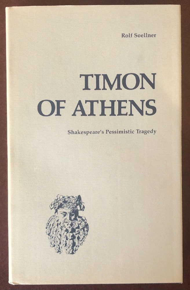 Image for Timon of Athens: Shakespeare's Pessimistic Tragedy